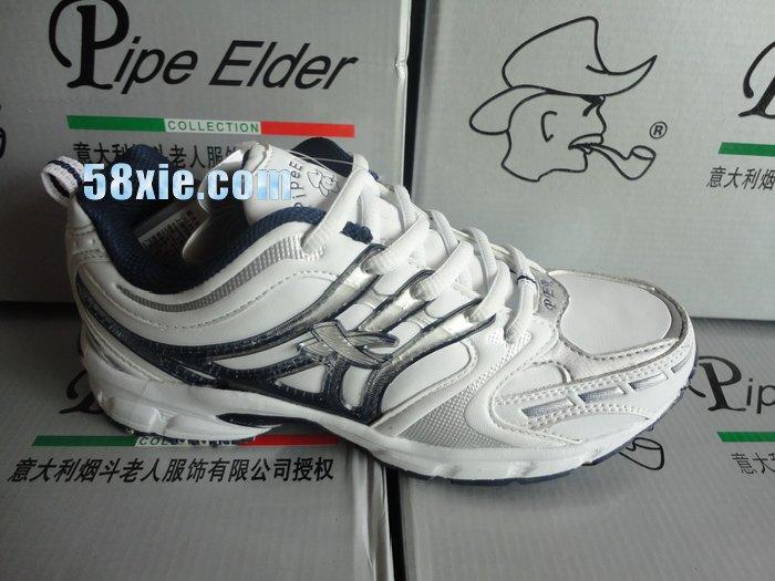 0807正品新款意大利烟斗老人女网球鞋批发8626三色15